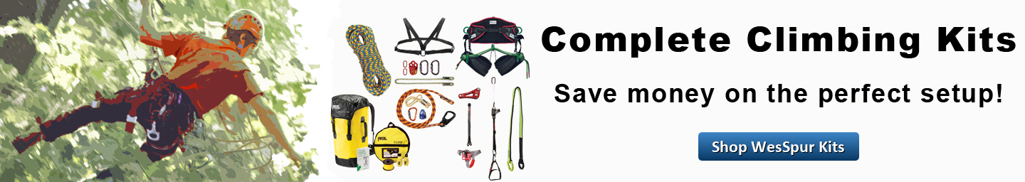 Save on your perfect tree climbing kit!