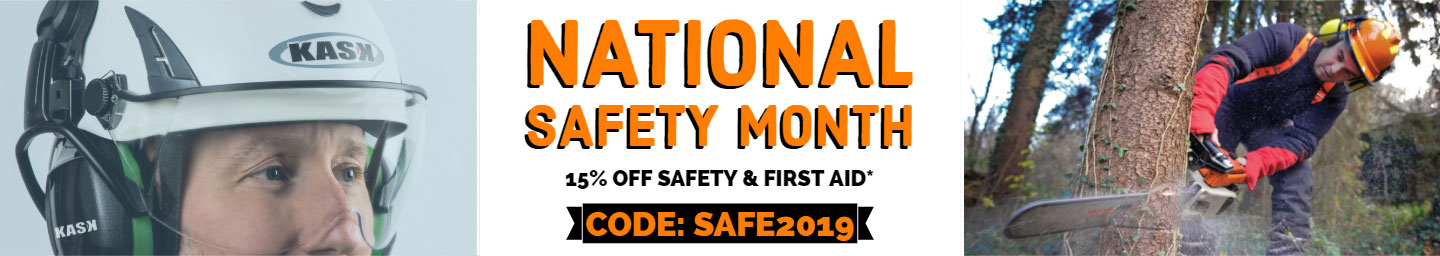 Save on PPE - 15% off most safety gear
