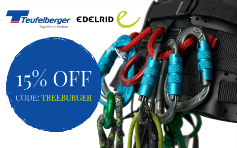 Save 15% on Teufelberger and Edelrid Tree Gear