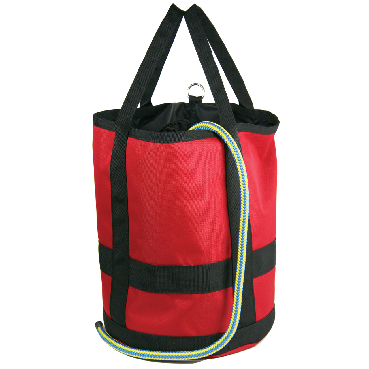 """Stores up to 150/' of 1//2/"""" Climbing Rope Rope Bag Collapsible"""