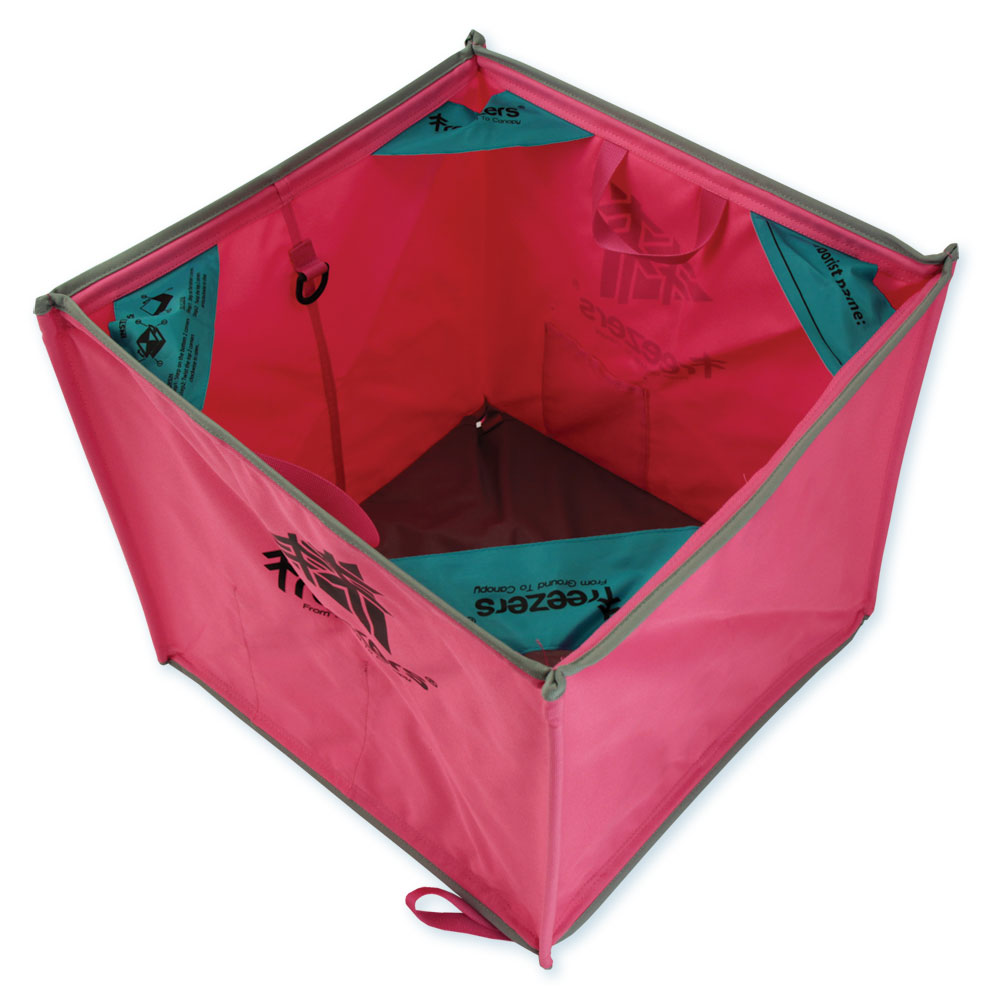 Jubi Throw Line Cube - Pink