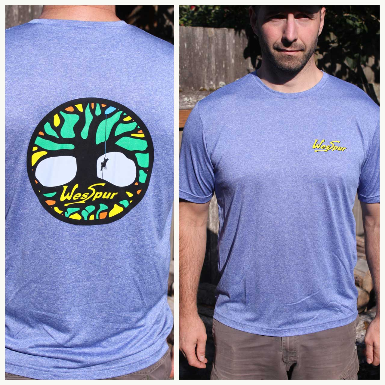 WesSpur 'Tree of Life' Performance Tee-Shirt, Men's image