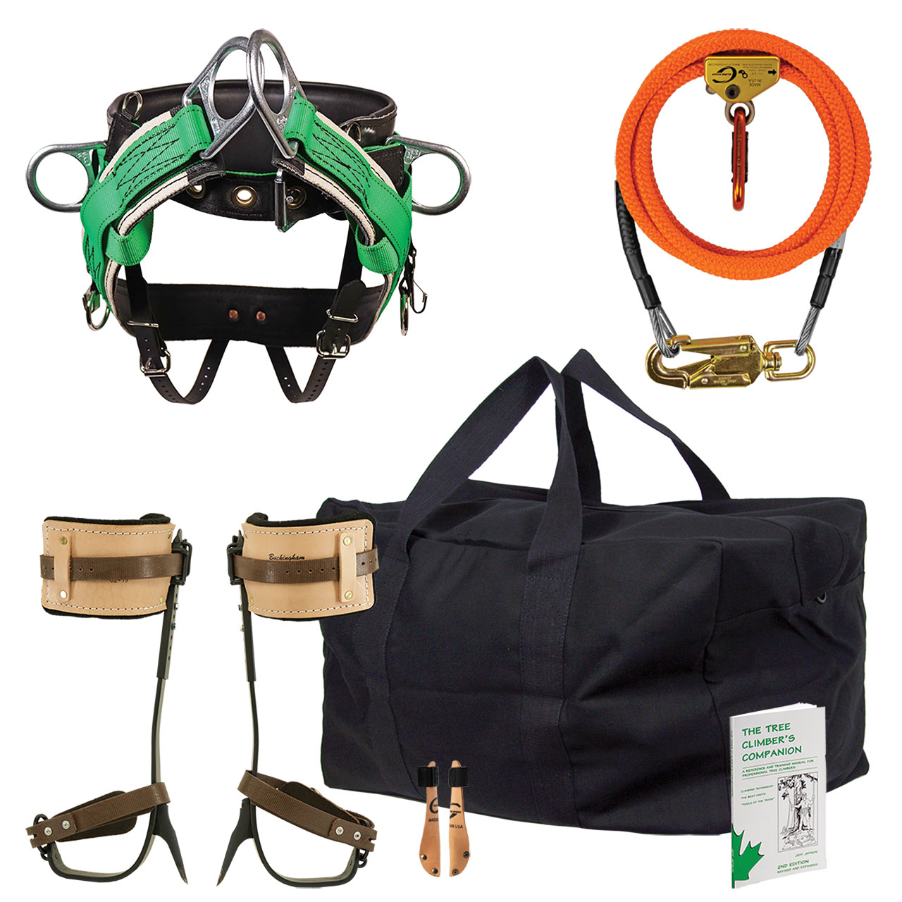 WesSpur's Beginner's Climber Kit - No Rope