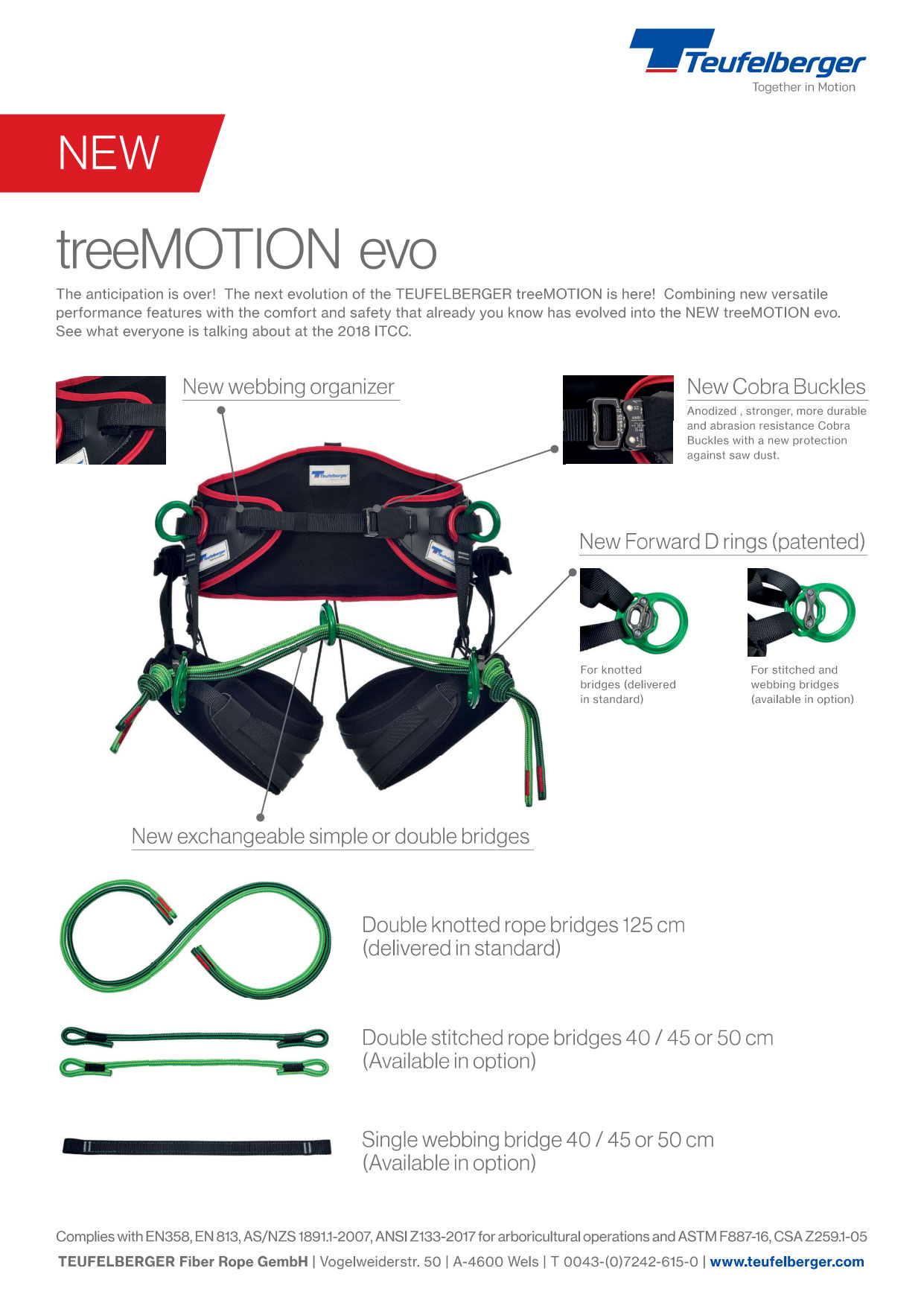 treemotion evo harness info